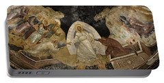 Resurrection Of Adam And Eve Panorama Portable Battery Charger