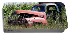 Portable Battery Charger featuring the photograph Retired by Deb Halloran