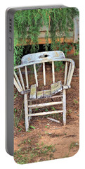 Portable Battery Charger featuring the photograph Retired by Gordon Elwell