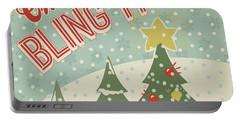 Retro Christmas Ix Portable Battery Charger