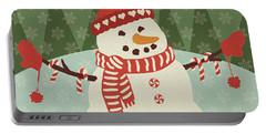Retro Christmas Vii Portable Battery Charger