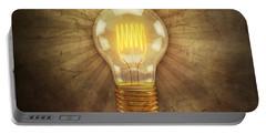 Retro Light Bulb Portable Battery Charger