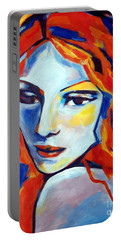Portable Battery Charger featuring the painting Reverie by Helena Wierzbicki