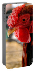 Rhode Island Red Portable Battery Charger by Eunice Miller