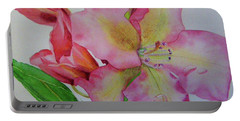 Rhodie With Dew I Portable Battery Charger