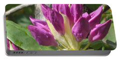 Rhodo Buds N Raindrops Portable Battery Charger