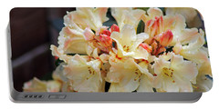 Rhododendron Nancy Evans Portable Battery Charger