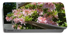Rhododendrons In Tumwater Falls Park Portable Battery Charger