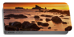 Rialto Beach Sunset Symphony Portable Battery Charger