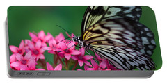 Rice Paper Butterfly Portable Battery Charger