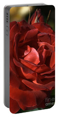 Portable Battery Charger featuring the photograph Rich Is Rose by Joy Watson
