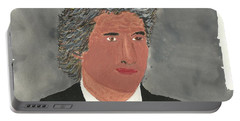 Richard Gere Portable Battery Charger by Tracey Williams