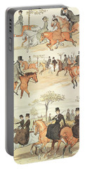 Riding Side-saddle Portable Battery Charger