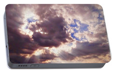 Portable Battery Charger featuring the photograph Riding The Invisible by Glenn McCarthy Art and Photography