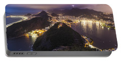 Rio Evening Cityscape Panorama Portable Battery Charger