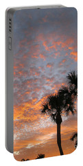 Rise And Shine. Florida. Morning Sky View Portable Battery Charger