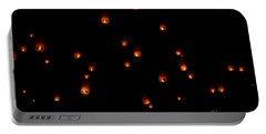 Rise Festival Lanterns 2014 Horizontal Sky Only Number One Portable Battery Charger