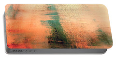 Portable Battery Charger featuring the painting Rise by Jacqueline McReynolds