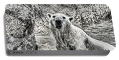 Portable Battery Charger featuring the photograph Rising From The Water by Dennis Baswell