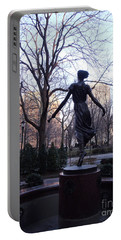 Rittenhouse Square At Dusk Portable Battery Charger