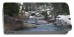 Portable Battery Charger featuring the photograph River Bend  by Bobbee Rickard