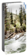 River Boulders Portable Battery Charger