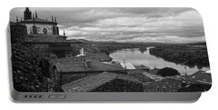 River Mino And Portugal From Tui Bw Portable Battery Charger