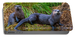 River Otters Portable Battery Charger