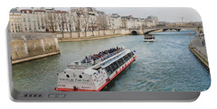 River Seine Excursion Boats Portable Battery Charger