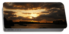 River Thames From Greenwich Portable Battery Charger