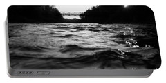 Portable Battery Charger featuring the photograph Rivers Edge by Michael Krek