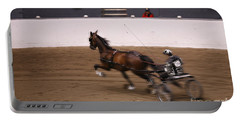 Portable Battery Charger featuring the photograph Road Pony At Speed by Carol Lynn Coronios