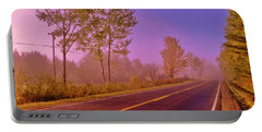 Portable Battery Charger featuring the photograph Road To... by Daniel Thompson