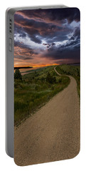 Road To Nowhere - Stormy Little Bend Portable Battery Charger