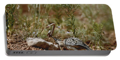 Roadrunner With Snake Portable Battery Charger