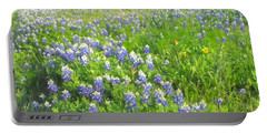 Roadside Bluebonnets  Portable Battery Charger