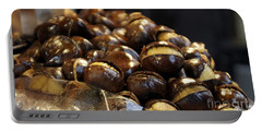 Portable Battery Charger featuring the photograph Roasted Chestnuts by Lilliana Mendez