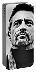Robert De Niro Portrait Portable Battery Charger