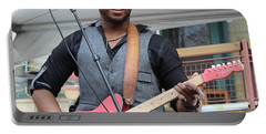 Portable Battery Charger featuring the photograph Robert Randolph  by Fiona Kennard