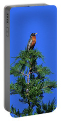 Robin Christmas Tree Topper Portable Battery Charger