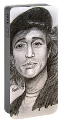 Robin Gibb Portable Battery Charger by Patrice Torrillo