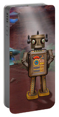 Robots With Attitudes  Portable Battery Charger
