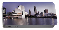 Portable Battery Charger featuring the photograph Rock And Roll Hall Of Fame - Cleveland Ohio - 2 by Mark Madere