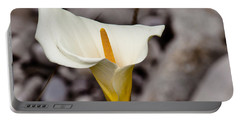 Rock Calla Lily Portable Battery Charger
