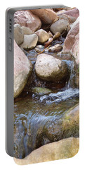 Portable Battery Charger featuring the photograph Rock Creek by Kerri Mortenson