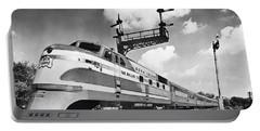 Rock Island Line Rocket Train Portable Battery Charger