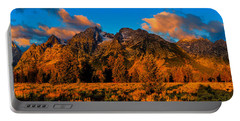 Portable Battery Charger featuring the photograph Rock Of Ages Panorama by Greg Norrell