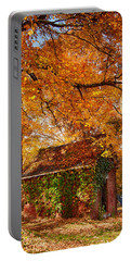 Portable Battery Charger featuring the photograph Rock Of Ages Surrouded By Color by Jeff Folger