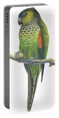 Rock Parakeet Portable Battery Charger by Anonymous