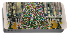 Rockefeller Center Portable Battery Charger